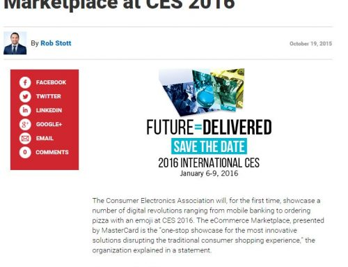 CEA Will Host its First eCommerce Marketplace at CES 2016